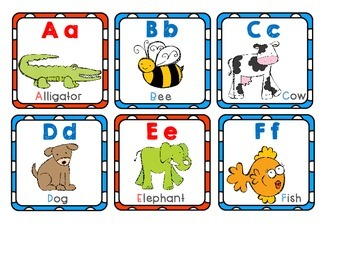 Alphabetically Speaking - Centers and Activities