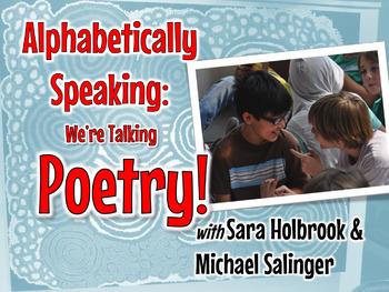 Alphabetically Speaking: We're Talkin' Poetry