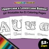 Alphabetimals™ Uppercase & Lowercase Babies! 52+ Printable