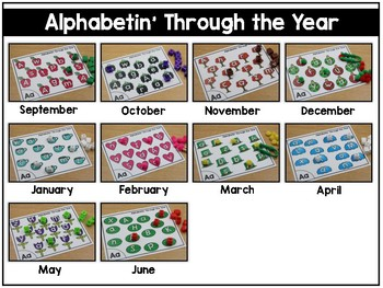 Alphabetin' Through the Year