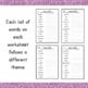 Alphabetize Word Lists
