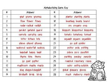 Alphabetizing Board Games-Grades 3-5 Set Two