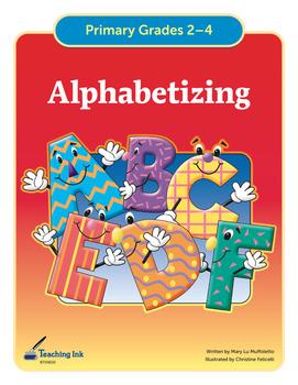 Alphabetizing (Grades 2-4) by Teaching Ink