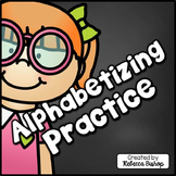 ABC Order: Alphabetical Order Practice