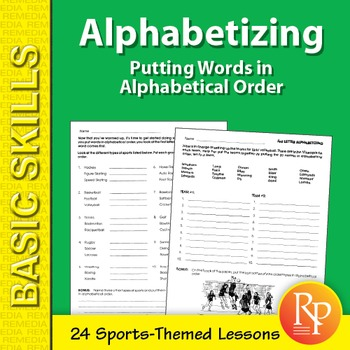Alphabetical Order Worksheet 2nd Teaching Resources Teachers Pay
