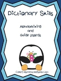Alphabetizing and  Dictionary Guide Word Practice