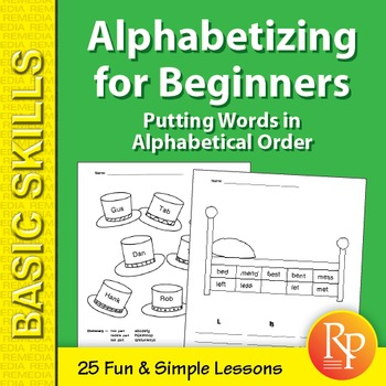 Alphabetizing for Beginners: Putting Words in Alphabetical Order