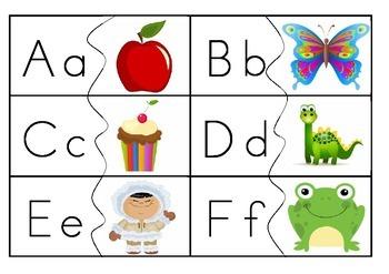 Alphabet/picture puzzle