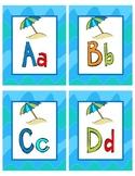 Alphabet Beach theme