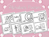 Alphabets Posters