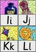 Alphabets flash cards (Memphis theme!)