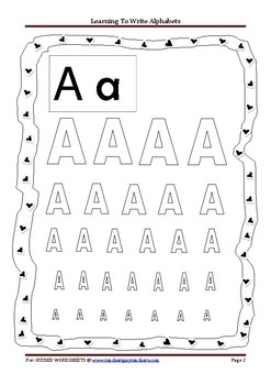 Alphabets for Beginners