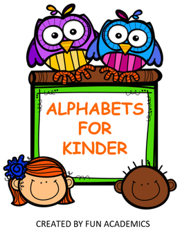 Alphabets for Kinder