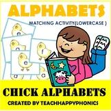 Alphabets matching Activity (Lowercase)