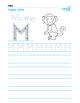 Handwriting Alphabet Worksheets with Animals