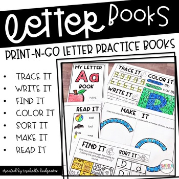 Alphabook | Letter of the Week | Alphabet Books | Letter Practice Letter Sounds
