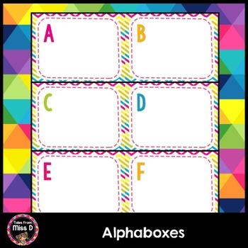 Alphaboxes
