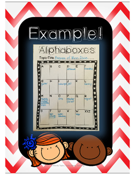 Alphaboxes: Easy, Fun, Engaging!