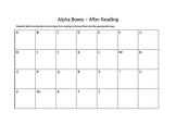 Alphaboxes Handout