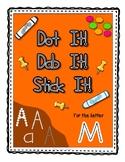 Alphadot Alphabet Dot It! Dab It! Stick It! Generic Worksh