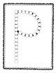 Alphadot Alphabet Dot It! Dab It! Stick It! Generic Worksheets ~ Focus Letter P