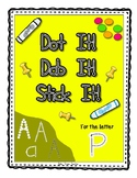 Alphadot Alphabet Dot It! Dab It! Stick It! Generic Worksh