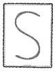 Alphadot Alphabet Dot It! Dab It! Stick It! Generic Worksheets ~ Focus Letter S