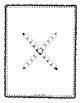 Alphadot Alphabet Dot It! Dab It! Stick It! Generic Worksheets ~ Focus Letter X