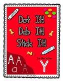 Alphadot Alphabet Dot It! Dab It! Stick It! Generic Worksheets ~ Focus Letter Y