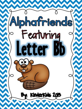 Alphafriends Featuring Letter Bb