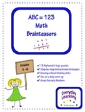 Alphametic Math Logic Puzzles - Brainteasers