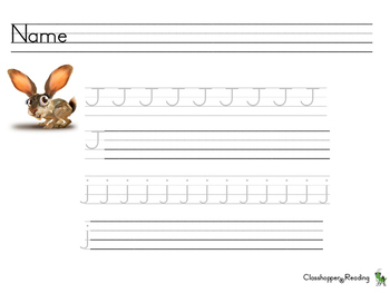 Alphamoji Letter Writing Practice