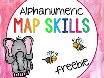 Alphanumeric Map freebie