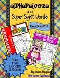 Alphapalooza ABC Work & Super Sight Words { bundled }