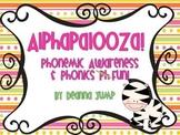 Alphabet Alphapalooza Phonemic Awareness and Phonics Fun