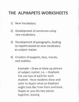 Alphapet freebie