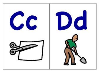 Alphardy Alphabet Strip