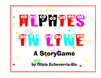 K- 1 Alphies in Line: A StoryGame Book Phonics Practice