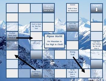 Alpine Game Board Template