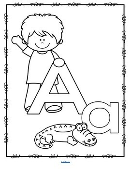 Alphabet Posters and Flashcards, Diverse Kids Theme