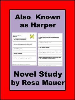 Also Known as Harper Book Unit
