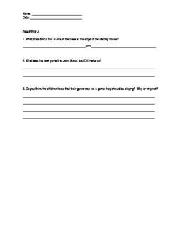Alt - To Kill a Mockingbird Chapter Questions