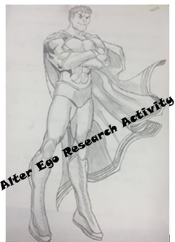 Alter Ego Creative Research Activity