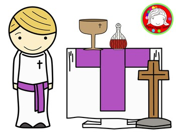 Altar Kids Clipart (Personal & Commercial Use)