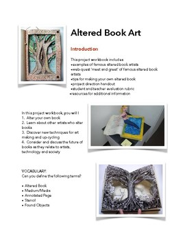 Altered Book Art Project