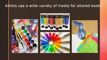 Altered Books Slideshow Presentation