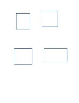 Alternate Assessment - sort triangles and quadrilaterals