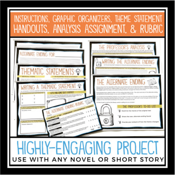 Alternate Ending: Book Report Project for Any Novel or Short Story