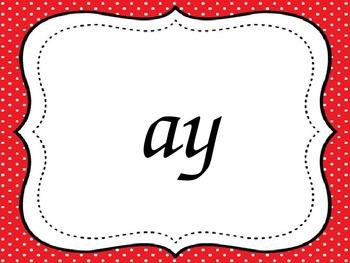 Alternate Vowel Spelling PowerPoint - Flashcards