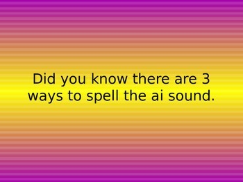Alternate spelling of the same sound